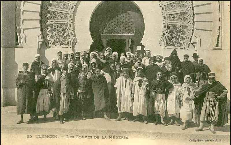 Histoires tlemcen ville photos de classe 1830 1962 for Plan tlemcen