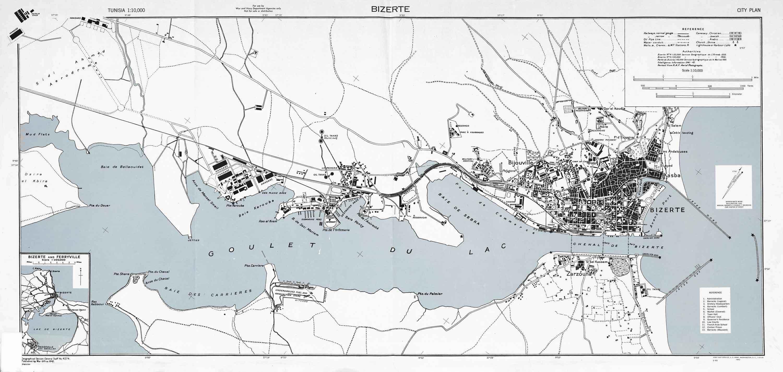 Plan Bizerte 1943  U2014 1830